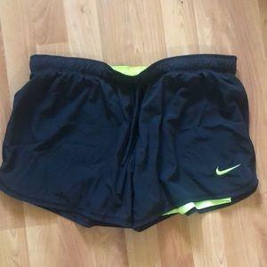 Nike Large Running Shorts with under legging